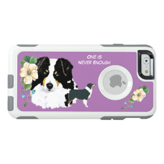 BlackAussie, lila Blumenpendler iPhone6-6s+Fall OtterBox iPhone 6/6s Hülle