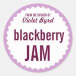 BlackBerry-Marmeladen-Zuhause-einmachende Aufklebe