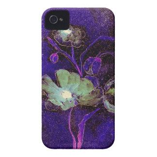 BlackBerry-mutige grüne Mohnblumen--Mutig iPhone 4 Hülle