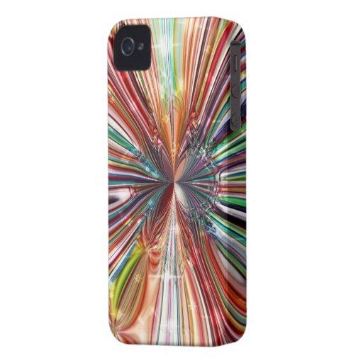 BlackBerry-mutiger Kasten `` rotes Cristall iPhone 4 Etuis