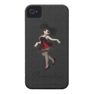 BlackBerry mutiges niedliches kleines Goth iPhone 4 Hüllen