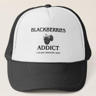 BlackBerry-Süchtiger Truckerkappe
