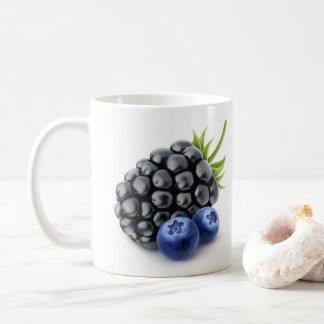 BlackBerry und Blaubeeren Kaffeetasse