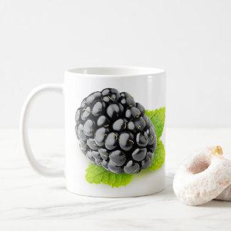 BlackBerry und Minze Kaffeetasse