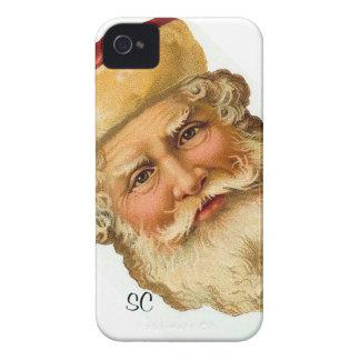 BlackBerry - Vintage Weihnachtsmann-Illustration iPhone 4 Hülle