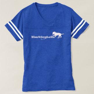BlackDogLuke Shirt V-Hals der Fußball der Frauen