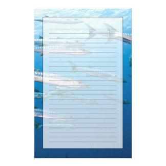 Blackfin Barracuda Briefpapier