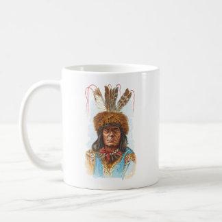 Blackfoot-Sioux-Leiter: Großes Rasiermesser Kaffeetasse