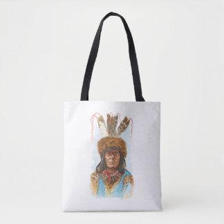 Blackfoot-Sioux-Leiter: Großes Rasiermesser Tasche