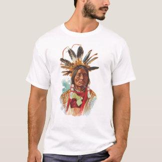 Blackfoot-Sioux-Leiter: Viele Hörner T-Shirt