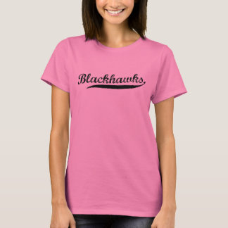 BLACKHAWKS-Teamnamen-Shirt für Sportteams T-Shirt