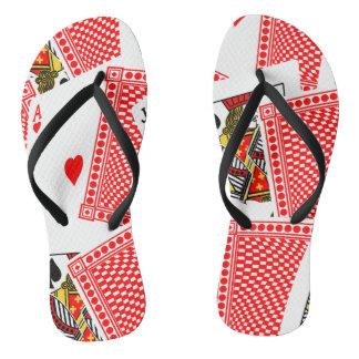Blackjack Flip Flops