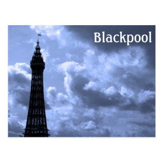 Blackpool Postkarte