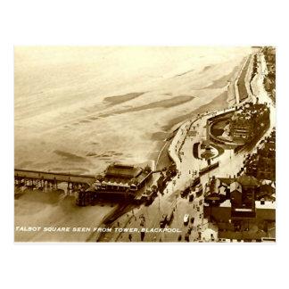 Blackpool, Talbot-Quadrat Postkarte