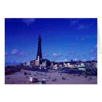 Blackpool-Turm circa 1965 Karte
