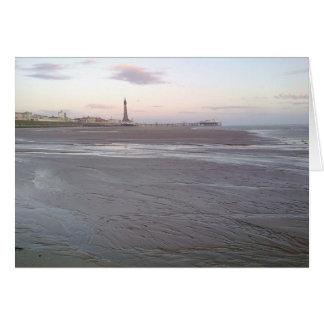 Blackpool-Turm-Karte Karte