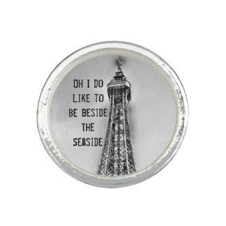 Blackpool-Turm-Küstenring Ringe