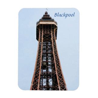 Blackpool-Turmandenken-Foto Magnet