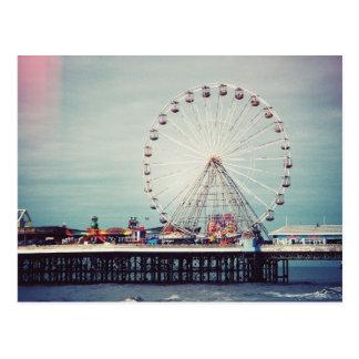 Blackpool (Vereinigtes Königreich) Postkarte