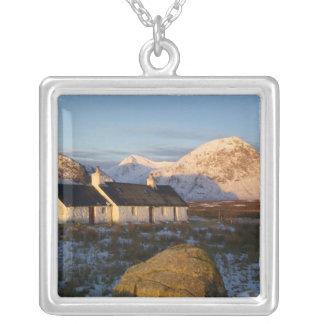 Blackrock Hütte, Glencoe, Hochländer, Schottland 3 Versilberte Kette