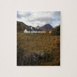 Blackrock Hütte, Glencoe, Schottland Puzzle