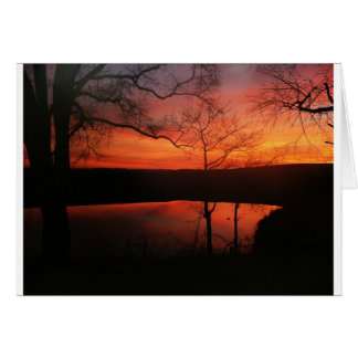 Blacksburg Sonnenuntergang Karte