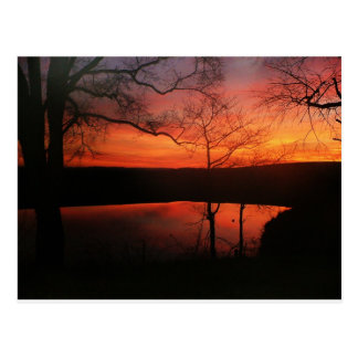Blacksburg Sonnenuntergang Postkarte
