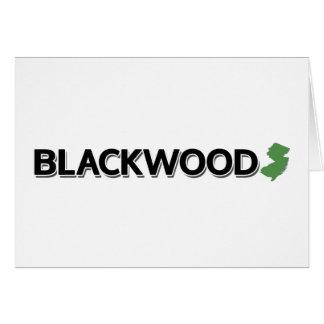 Blackwood, New-Jersey Karte