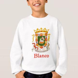 Blanco-Schild von Puerto Rico Sweatshirt