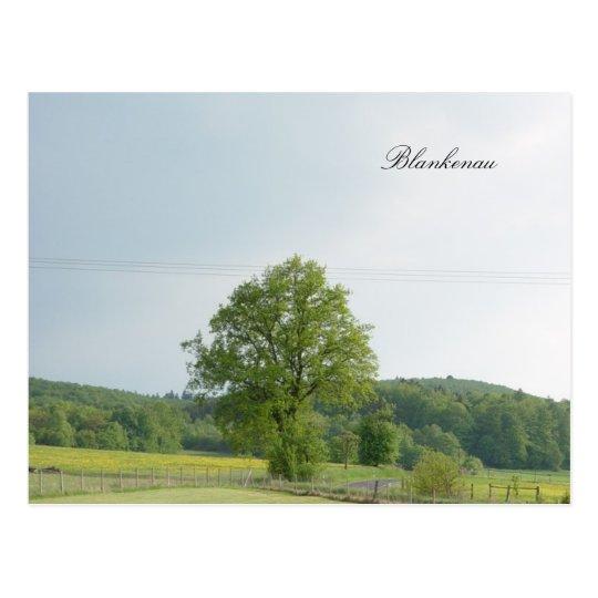 Blankenau Postkarte