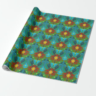 "Blanketflower Wrapping Paper 30"" x 6'"