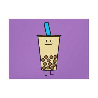 Blase Boba Perlen-Milch-Tee-Tapiokabälle Leinwanddruck