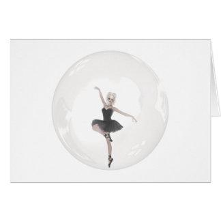 Blasen-Ballerina 1 Karte