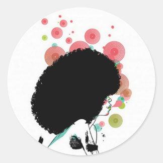Blasen-Biene Sticker