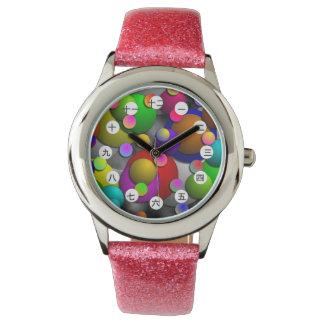 Blasen-(chinesisch/japanisches Gesicht) Uhr