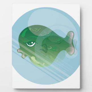 Blasen-Fische Fotoplatte