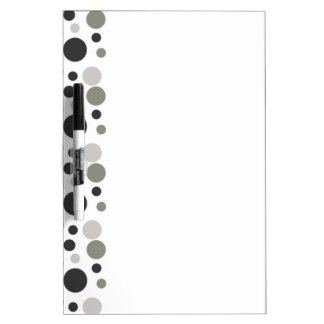 Blasen in Schwarzem u. im Grau Whiteboards