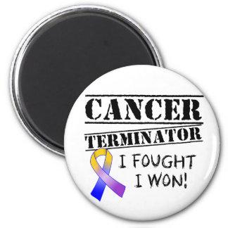 Blasen-Krebs-Abschlussprogramm Kühlschrankmagnet