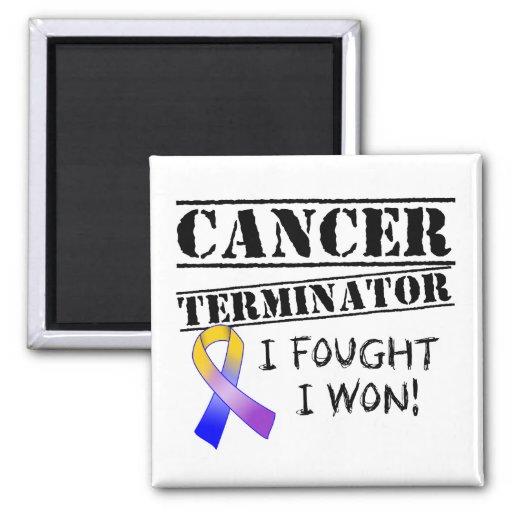 Blasen-Krebs-Abschlussprogramm Kühlschrankmagnete