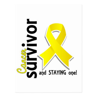 Blasen-Krebs-Überlebender 19 Postkarte