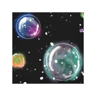 Blasen-Leinwand Leinwanddruck