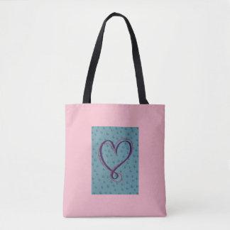 Blasen-Liebe: volle Tasche