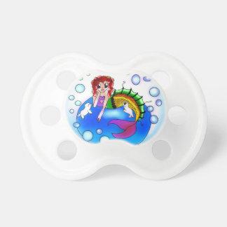 Blasen-Meerjungfraubaby-Schnuller Schnuller