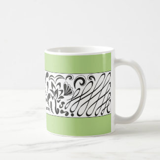 Blasen-Problem - grüne Tasse