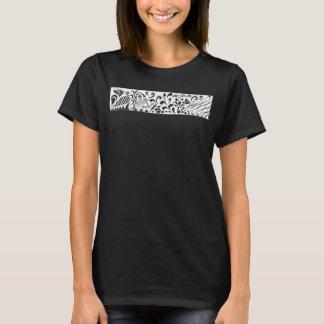 Blasen-Problem - schwarzer T - Shirt
