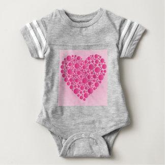 Blasen-rosa Hirsch Baby Strampler