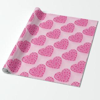 Blasen-rosa Hirsch Geschenkpapier