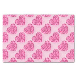 Blasen-rosa Hirsch Seidenpapier