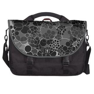 Blasen-schwarze Tupfen-Laptop-Tasche Laptop Taschen