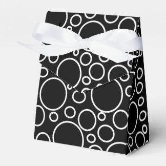 Blasen-schwarzer Bevorzugungs-Kasten Geschenkschachteln